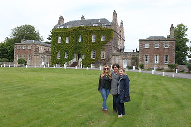 Brittany, Hilary and Emily from Washington DC on their 3 day Outlander Tour