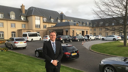 April 2017 working with Allianz, BMW and RGA at The Old Course Tournament, St Andrews and The Fairmont Hotel
