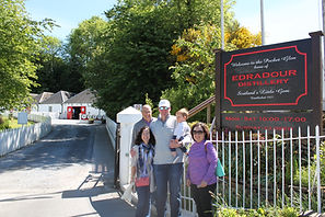 Edradour Distillery Tour
