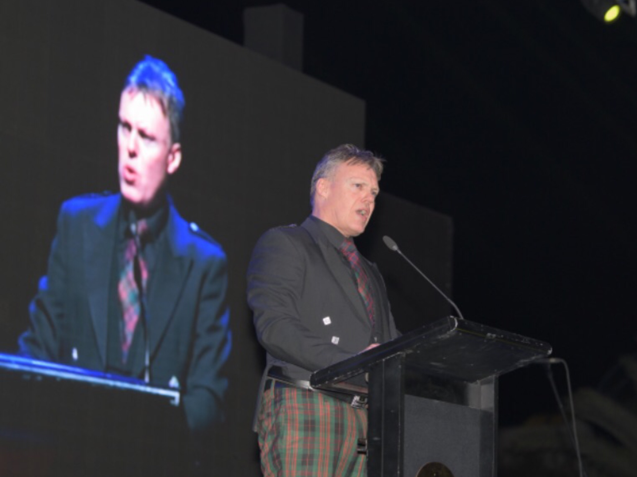MC at the Caledonian Society of Oman