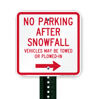 Kearny snow removal parking restriction announcement