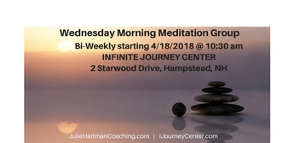 Bi-Weekly Wednesday Morning Meditation Group