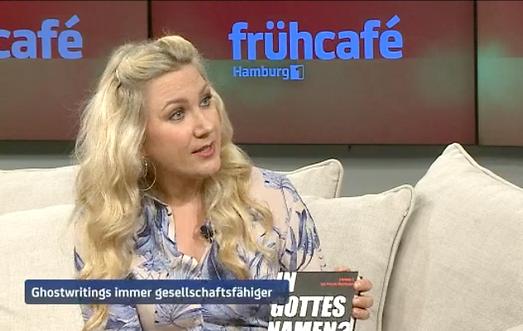 Pamela Obermaier im Interview bei Hamburg 1 Frühcafe