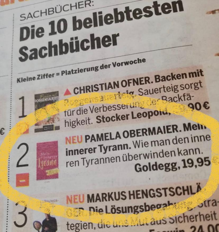 Der fünfte Bestseller!