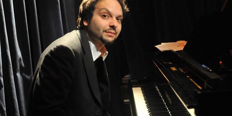 Italian piano player Daniele Pozzovio meets Amedeo Ariano Luca Bulgarelli Dario Rosciglione (violoncello)