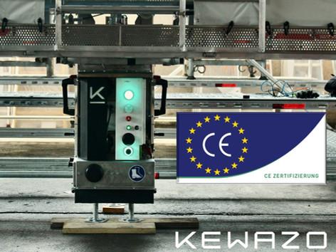 LIFTBOT receives CE certification - official acceptance by TÜV-SÜD