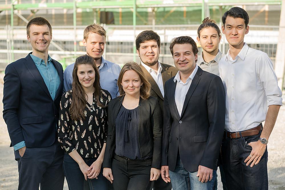 KEWAZO Team. Photo: Simon Kratzer