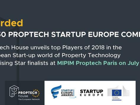 KEWAZO among the top 50 PropTech start-ups of Europe!