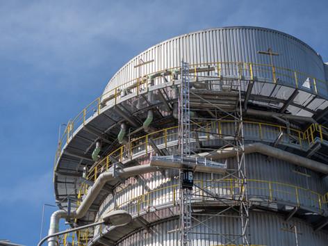 MTL Group setzt ihren LIFTBOT in einem Kraftwerk in Tschechien ein