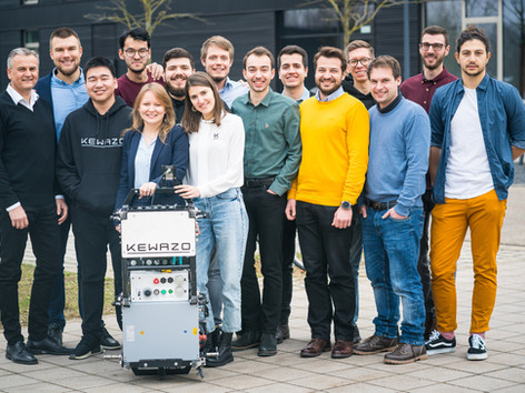 KEWAZO raises a € 2.5 million further financial round and strengthens its management team