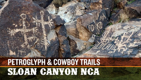 Petroglyph and Cowboy Trails | Sloan Canyon National Conservation Area, NV