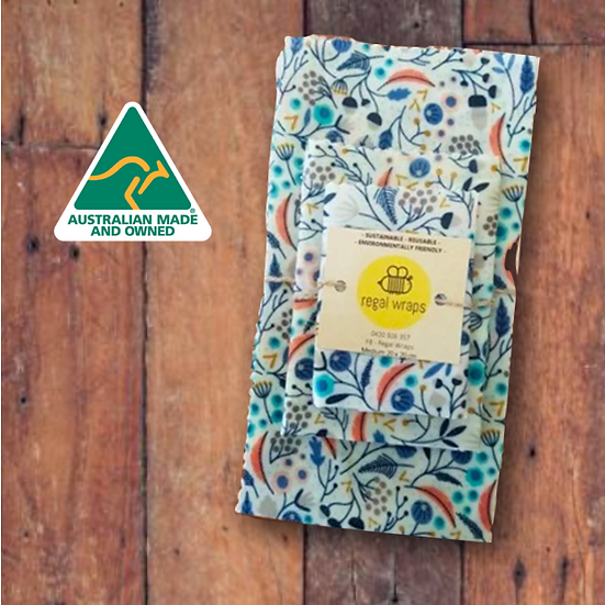 Oz Beeswax Wraps Starter Pack
