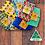 Thumbnail: Oz Beeswax Wraps (Medium 30x30cm) - 5x Mixed Pack