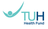 tuh health health fund logo, australia.p