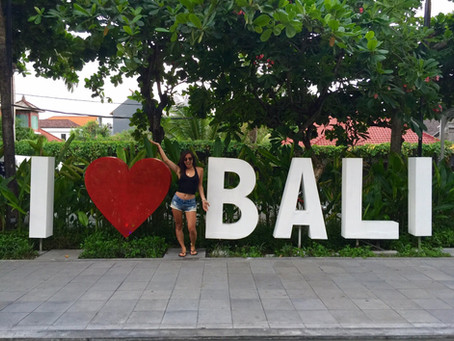 First solo trip found me in Bali