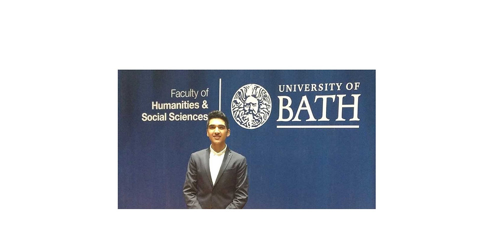 University of Bath 'Young India Student of the Year 2018