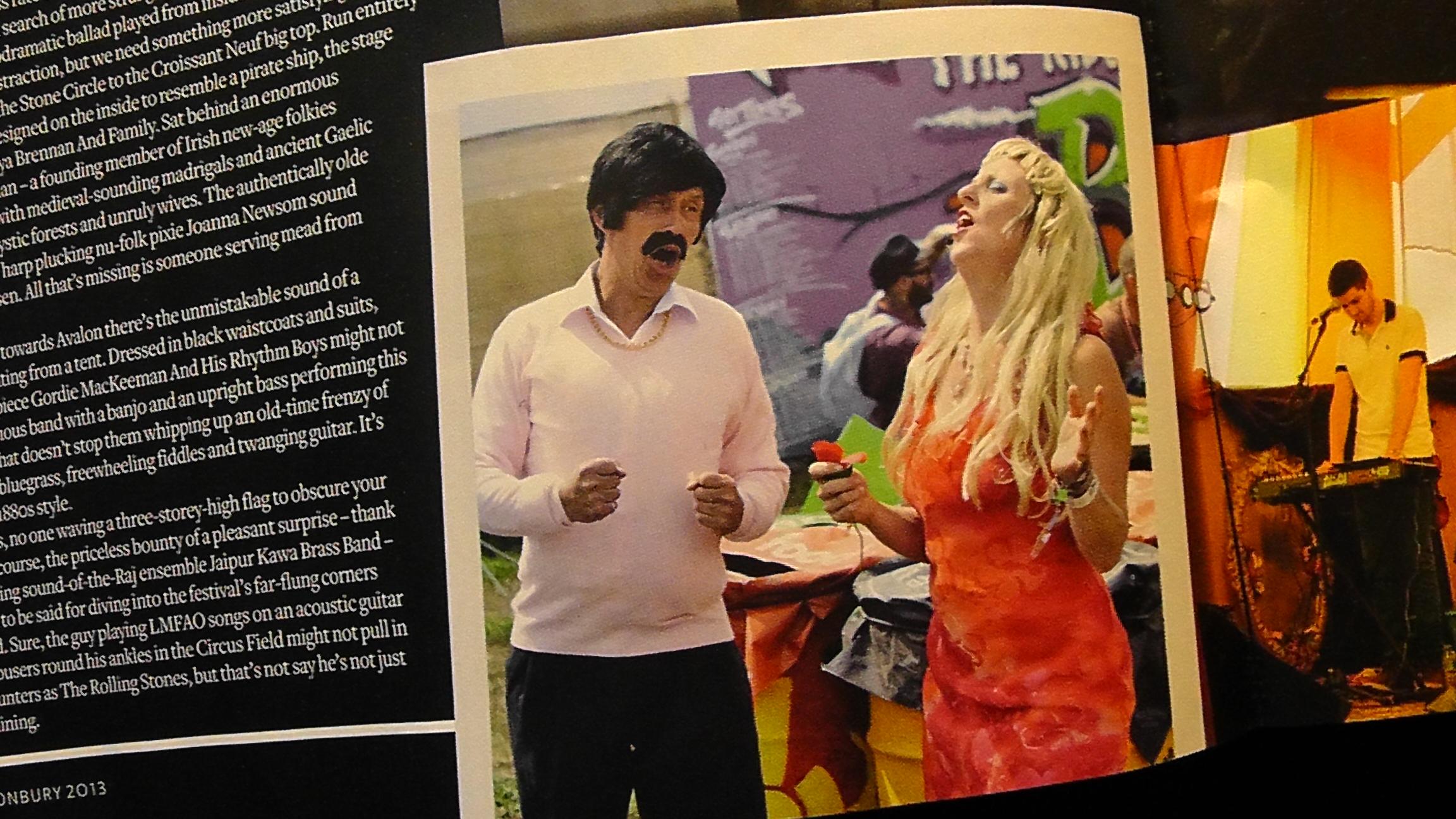 Q magazine Glastonbury coverage