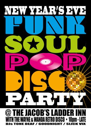 New Year's Eve Disco @ The Jacob's Inn