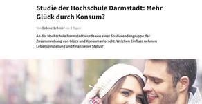 """""""Studie der Hochschule Darmstadt: Mehr Glück durch Konsum?"""""""