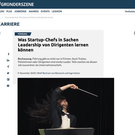 """Gründerszene: """"...von Dirigenten lernen..."""""""