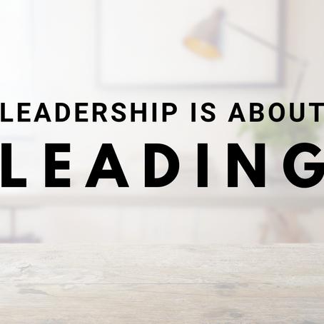 Leadership is...