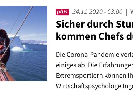 """Interview mit Darmstädter Echo: """"Sicher durch Sturm und Eis"""""""