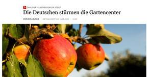 """""""Die Deutschen stürmen die Gartencenter"""""""