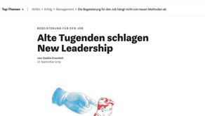 """Artikel WiWo: """"Alte Tugenden schlagen New Leadership"""""""