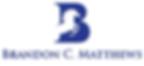 Brandon Matthews Copywriting Logo