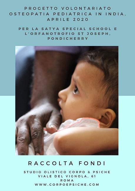 progetto volontariato osteopatia pediatr