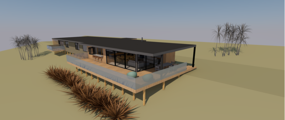 J & E House front