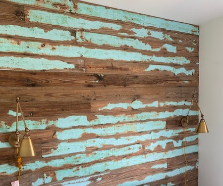 Hill Reclaimed Accent Wall