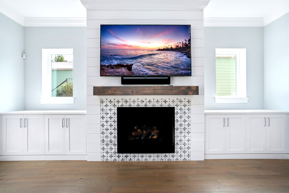 Rosevear Fireplace and Media Wall