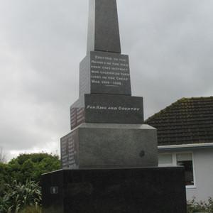 Otaki Memorial and Cenotaph