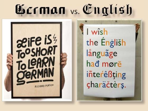 """""""Niemiecki,  w przeciwieństwie do angielskiego, jest logiczny"""" - Really?"""