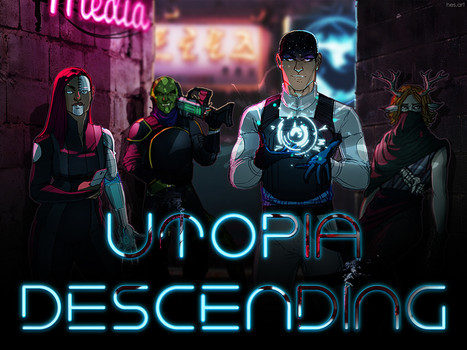Utopia Descending: NOT a zombie LARP