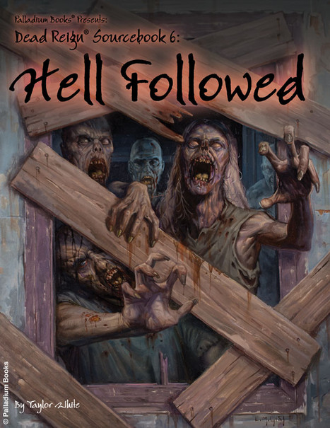 RPG Review: 'Hell Follows' -- a supplement for Palladium's Dead Reign