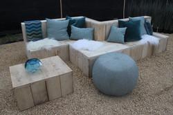 Greendelight | steigerhouten lounge
