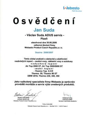 Webasto 2006/2007