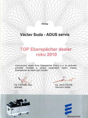 TOP Eberspächer dealer 2010