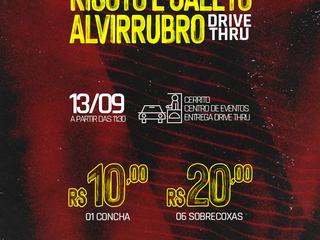 DRIVE THRU: 2ª edição do Risoto e Galeto Alvirrubro