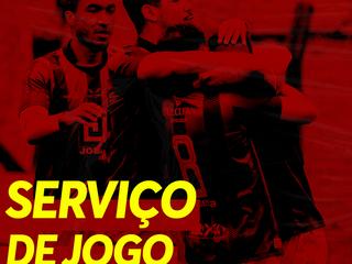 Serviço de jogo: Inter SM x Guarany BG
