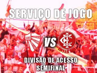 Serviço de jogo - São Luiz x Inter SM