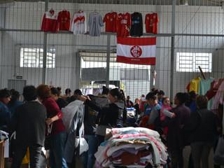 8º Varal da Solidariedade do Inter SM
