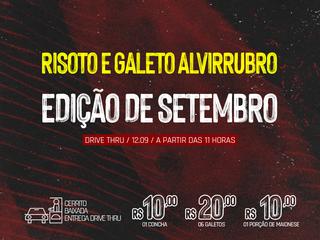 DRIVE THRU: 14º Risoto e Galeto Alvirrubro
