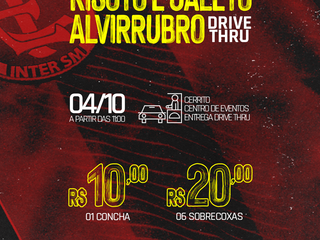 DRIVE THRU: 3º Risoto e Galeto Alvirrubro