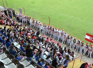 O Natal já chegou no Estádio Presidente Vargas