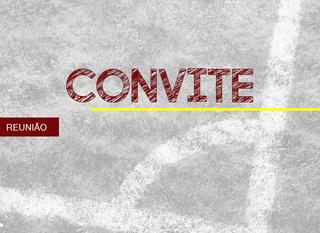 CONVITE: REUNIÃO