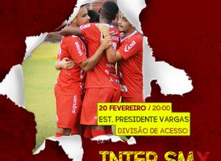 SERVIÇO DE JOGO - INTER SM X BAGÉ