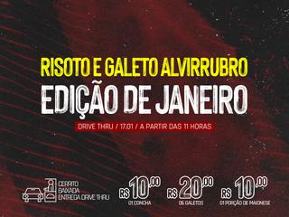 DRIVE THRU: 6º Risoto e Galeto Alvirrubro